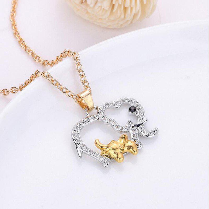 Alloy Hollow Out Elephant Choker NecklaceJEWELRY<br><br>Color: SILVER; Gender: For Women; Necklace Type: Link Chain; Style: Trendy; Shape/Pattern: Animal,Elephant; Weight: 0.0083kg; Package Contents: 1 x Necklace;