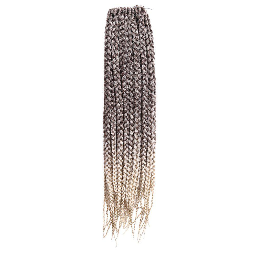Chic Long Three-strand Box Braids Synthetic Hair Weave
