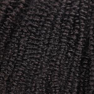 1Pc Shaggy Afro Kinky Curly Peruvian Human Hair Weave - Naturel Noir 8pouces