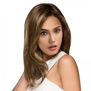 Medium Colormix Side Parting Straight Synthetic Wig -