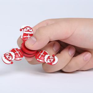 Christmas Snowman Tri-bar Metal Fidget Spinner - RED 7.5*75*1.3CM