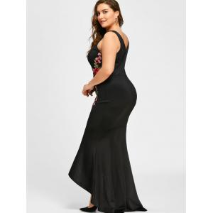 Plus Size Sleeveless Party Mermaid Engagement Dress -