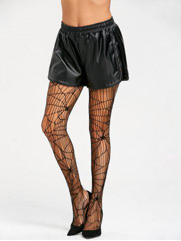Outfits Openwork Halloween Spider Web Tights