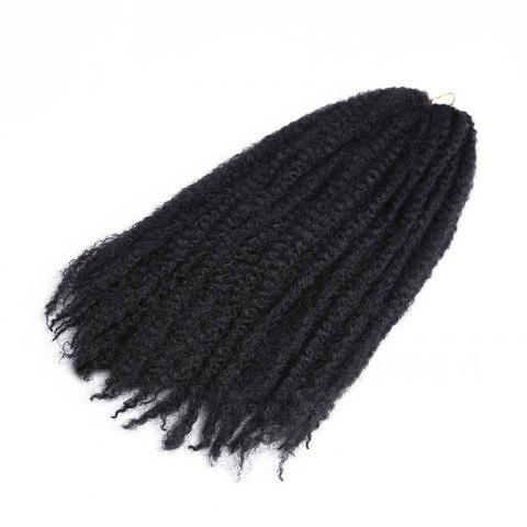 Long Fluffy Afro Kinky Curly Braids Cheveux Synthétiques