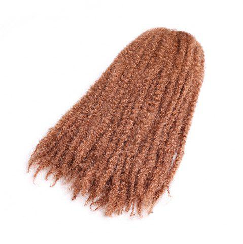 Store Long Fluffy Afro Kinky Curly Braids Synthetic Hair Weave - PEARL KUMQUAT  Mobile