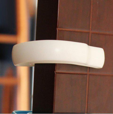 Baby Safety U Shape Gate Card Security Door Stopper Clip