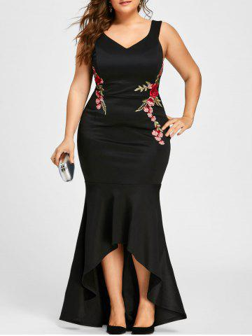 Fashion Plus Size Sleeveless Party Mermaid Engagement Dress