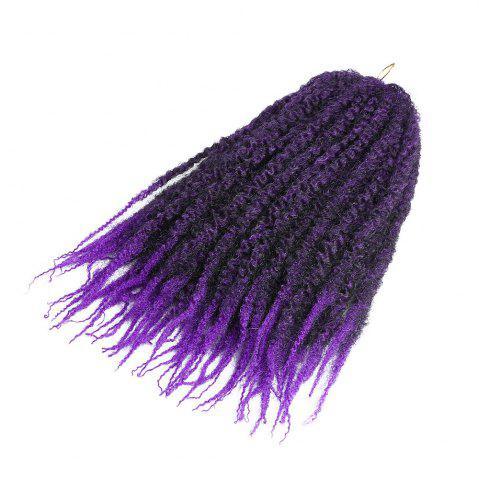 Shops Long Fluffy Afro Kinky Curly Braids Synthetic Hair Weave