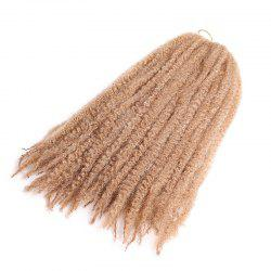 Long Fluffy Afro Kinky Curly Braids Cheveux Synthétiques - Agrumes