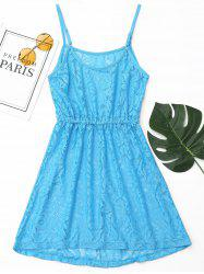 Lace Cover Up Cami Dress -