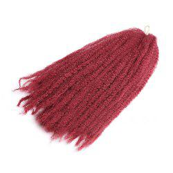 Long Fluffy Afro Kinky Curly Braids Synthetic Hair Weave -