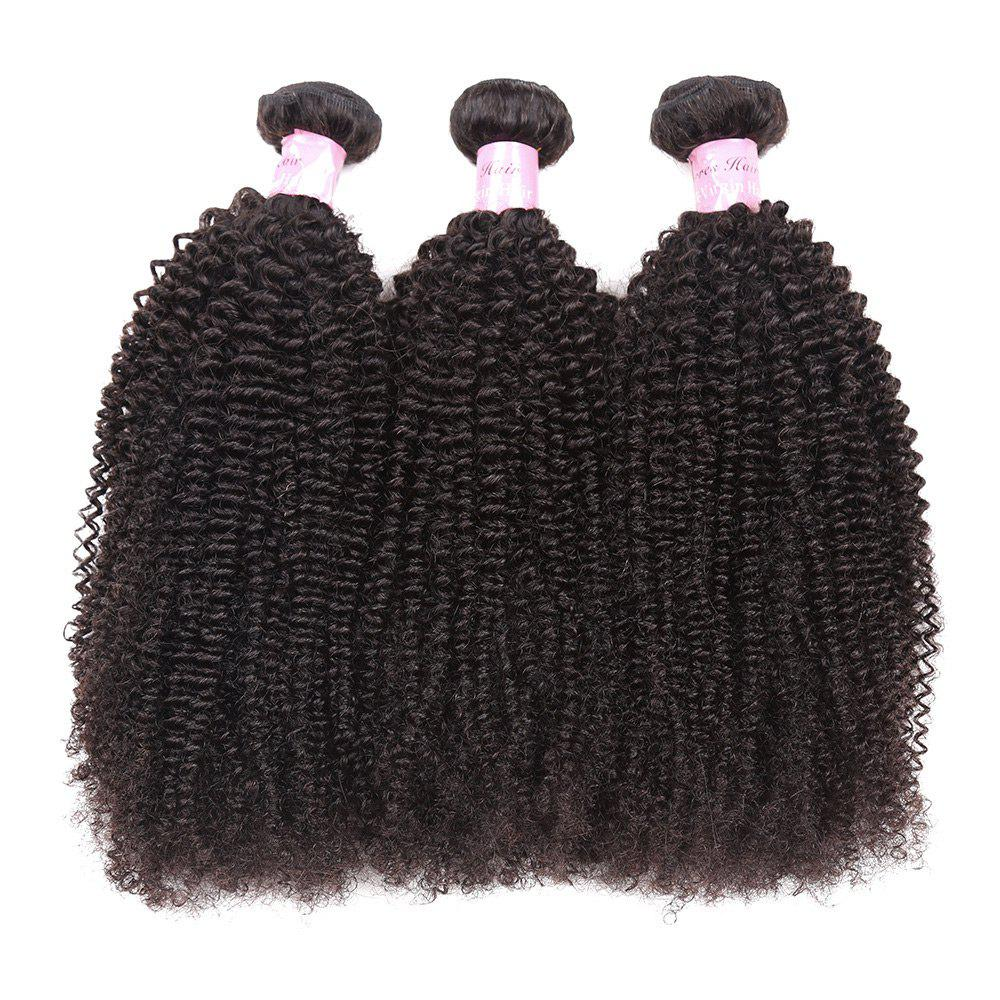 2018 1pc Shaggy Afro Kinky Curly Peruvian Human Hair Weave In