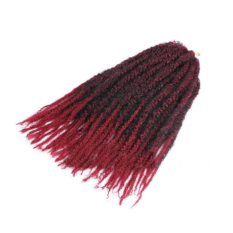 New Long Fluffy Afro Kinky Curly Braids Synthetic Hair Weave