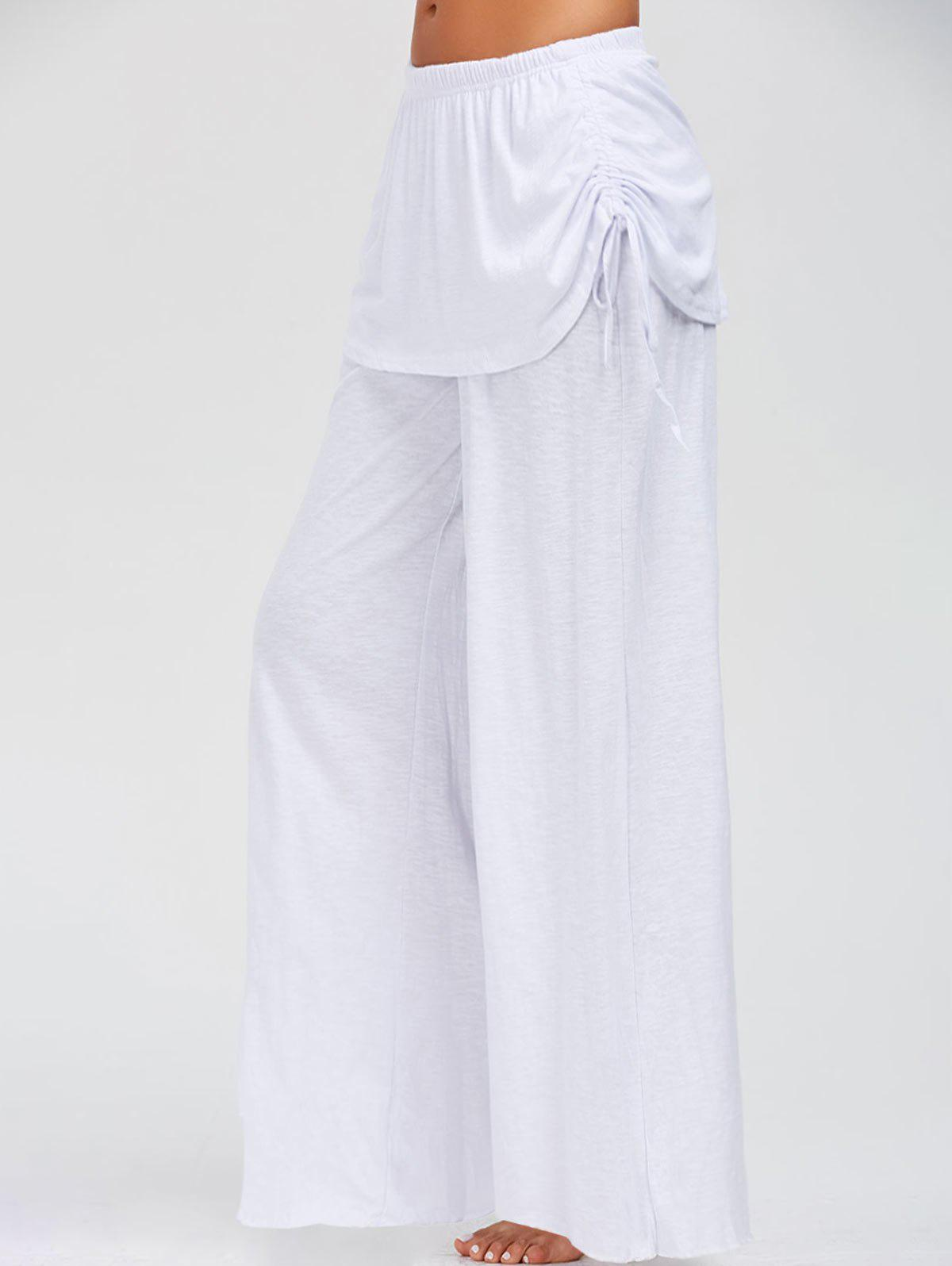 New Skirted Wide Leg Pants