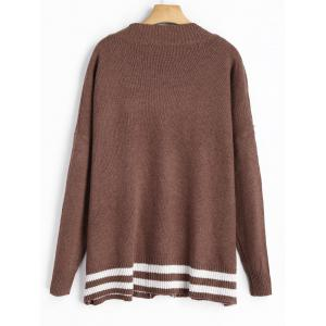 Cardigan à bout chere taille grand -