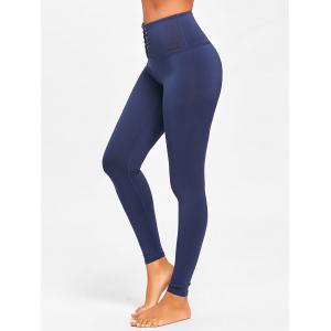 Leggings Criss Cross High Rise Sports -