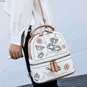 Butterfly Patchwork Flower Backpack -