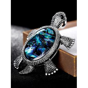Alloy Tortoise Shape Plating Brooch -