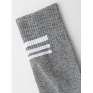 Crew Socks with Graphic Pattern -