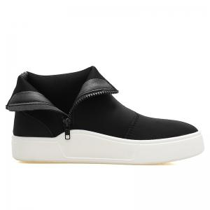 High Top Zipper Skate Shoes -