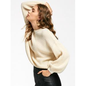 Lantern Sleeve Oversized Sweater -
