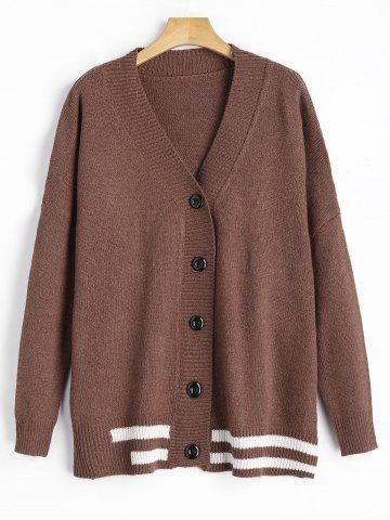 Cardigan à bout chere taille grand
