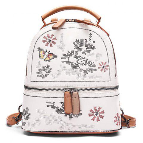 Sale Butterfly Patchwork Flower Backpack