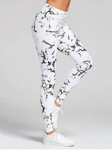 Fancy Printed High Waist Gym Skinny Leggings