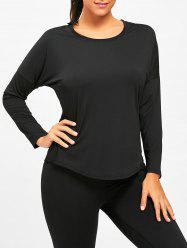 Sports See Through Long Sleeve T-shirt -
