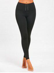 Sports  High Rise Criss Cross Leggings -