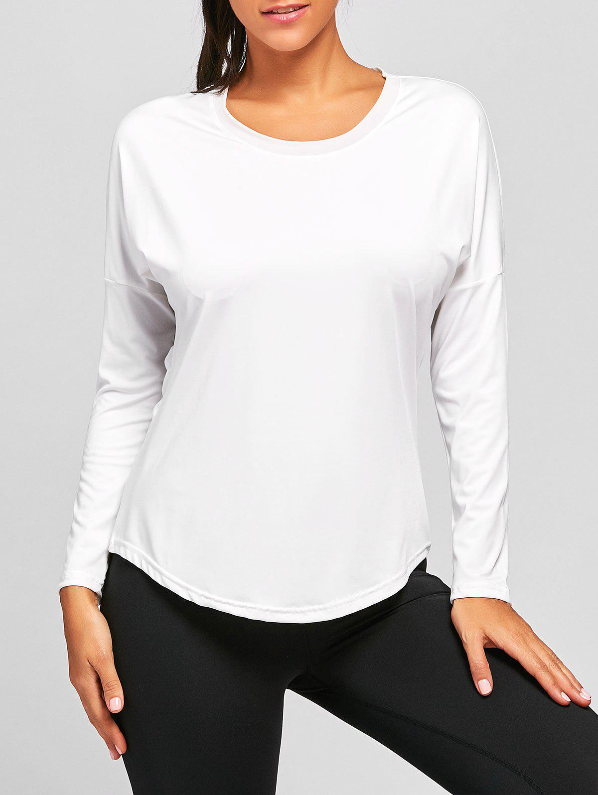 Fancy Sports See Through Long Sleeve T-shirt