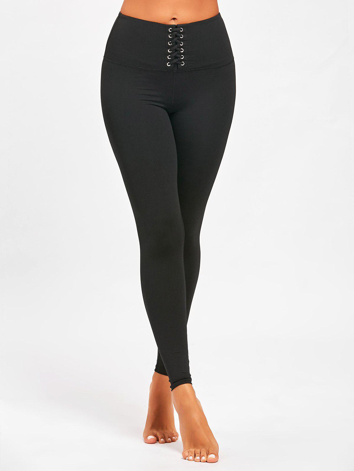Affordable Sports  High Rise Criss Cross Leggings