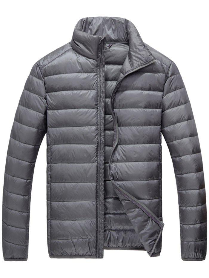 Pocketable Zip Up Down Jacket