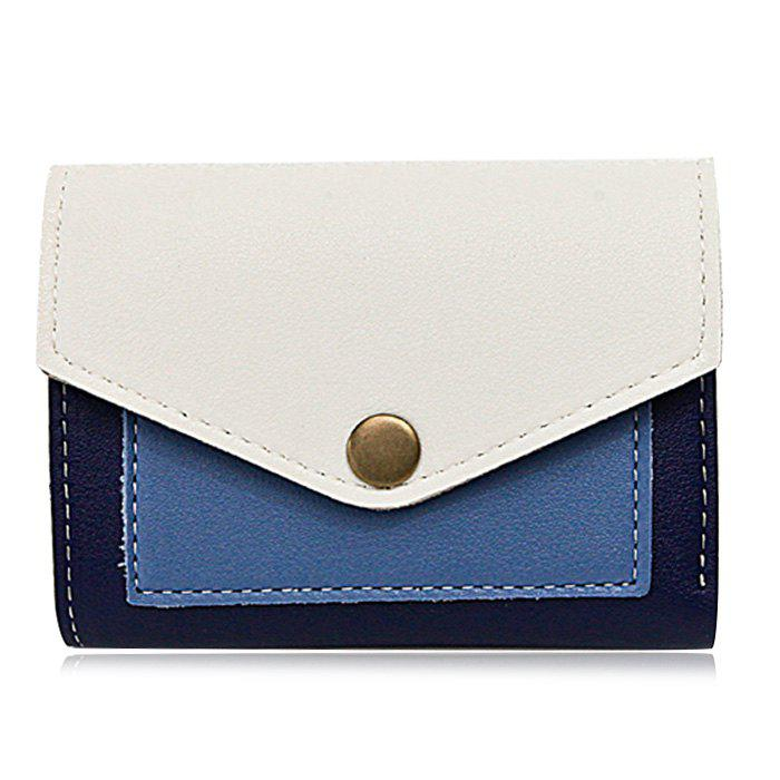 Outfit Color Block Bi Fold Wallet