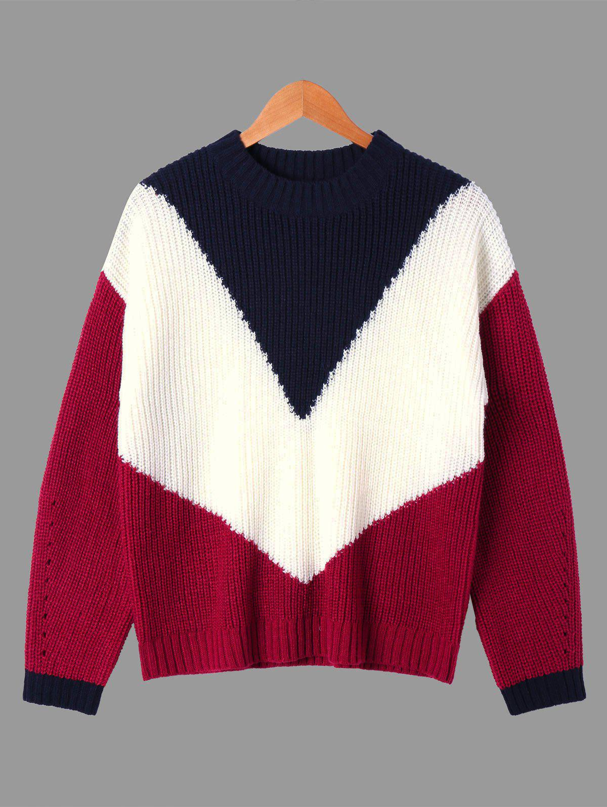 Ribbed Crew Neck Sweater 229426604