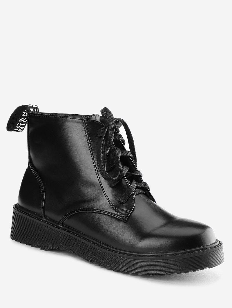 Unique Lace Up Ankle Boots
