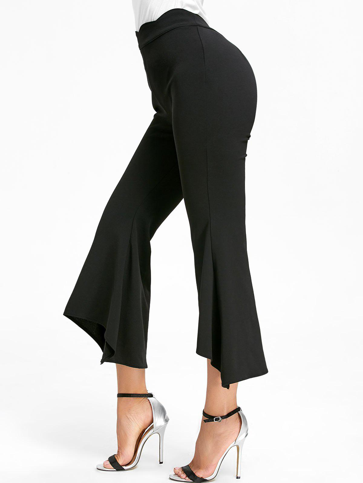 Affordable Ninth High Waisted Bell Bottom Pants