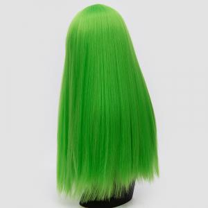 Long Full Bang Fluffy Straight Lolita Cosplay Synthetic Wig - EMERALD