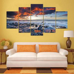 Art mural Sunset Seascape Impression sur toile -