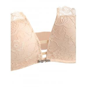 Lace Crossback Bra Set -