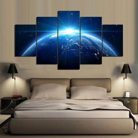 Outfits Universal Earth Printed Unframed Canvas