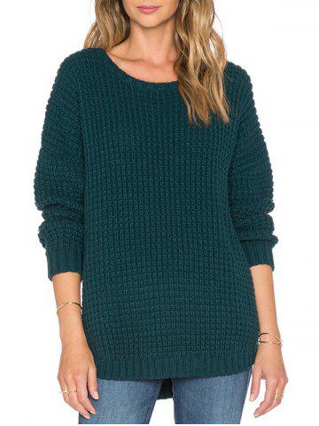 Tunic Ribbed Sweater