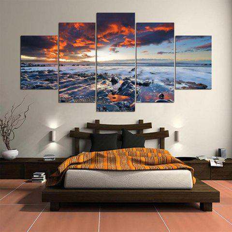 Art mural Sunset Seascape Impression sur toile