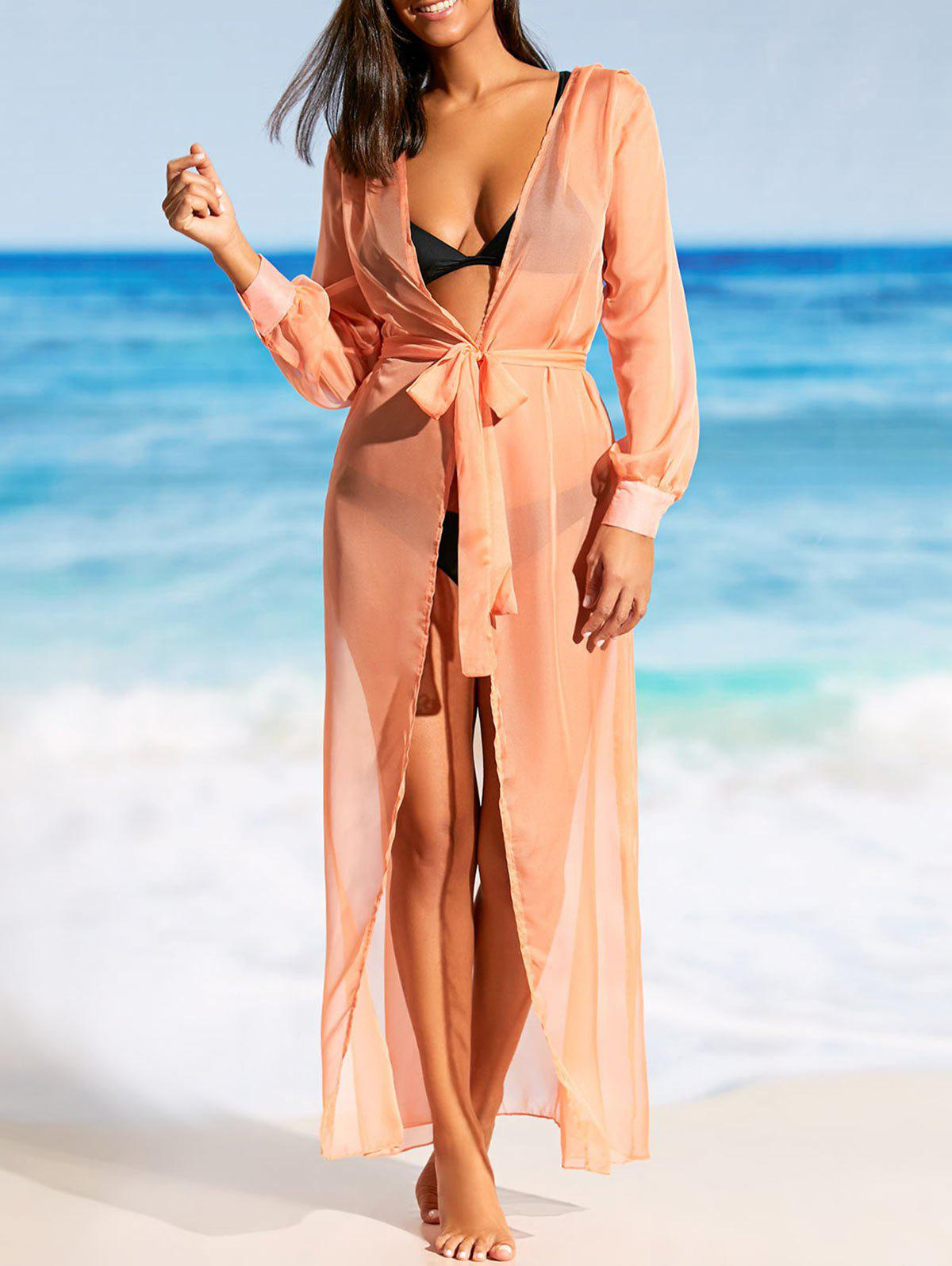 Best Flowy Maxi Wrap Cover Up Dress