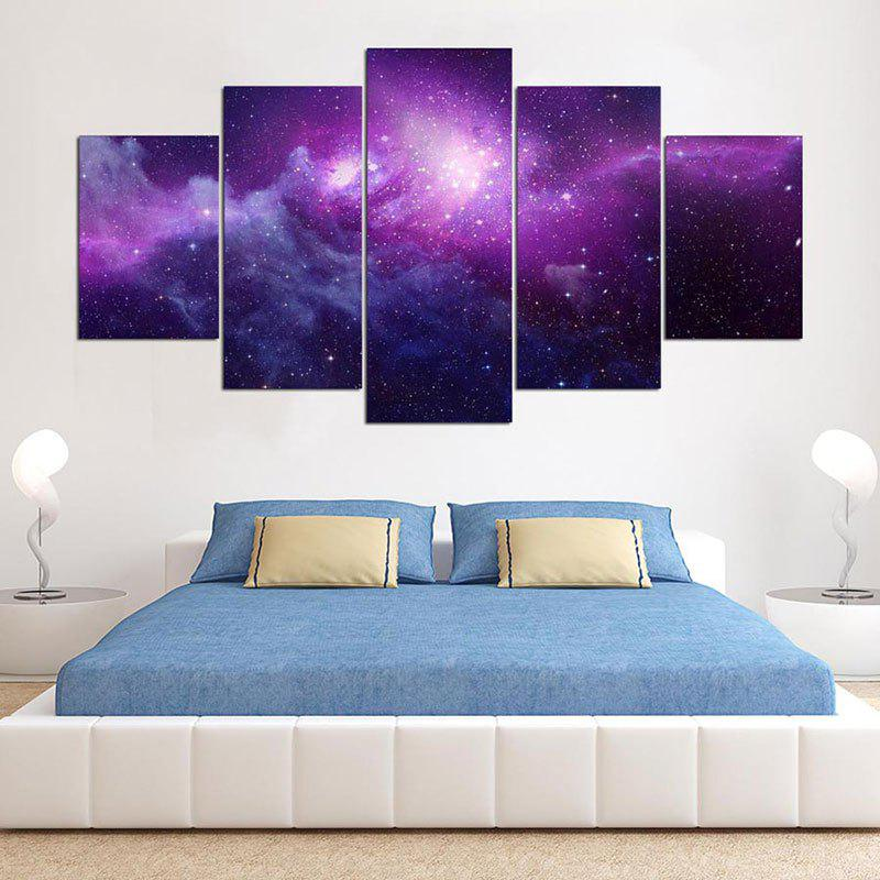 Buy Starry Sky Print Canvas Wall Art Painting