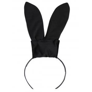 Costume lapin lapin - Noir TAILLE MOYENNE