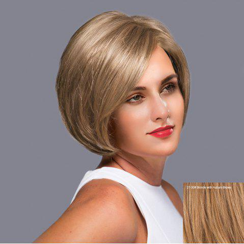 Buy Side Parting Straight Short Bob Lace Front Human Hair Wig