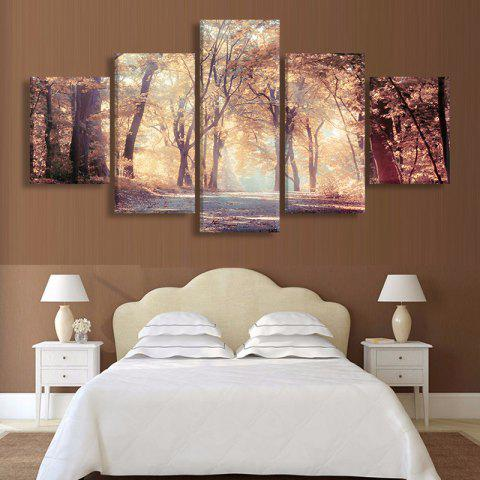 Buy Maple Leaf Forest Canvas Prints Wall Art Painting
