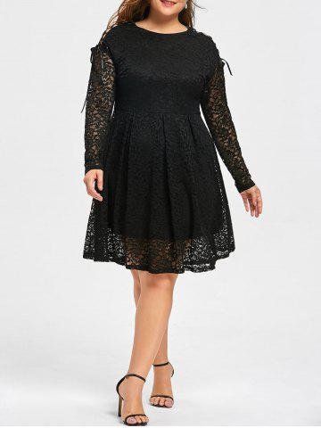 Round Neck Lace Dress Cheap Shop Fashion Style With Free Shipping ...