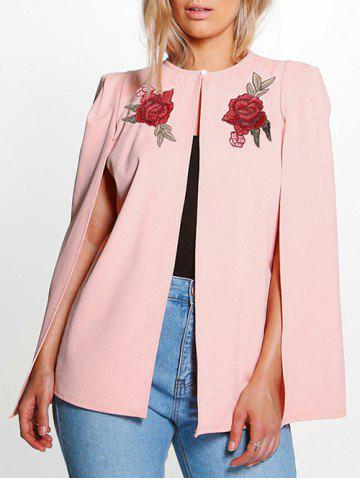 Affordable Embroidered Cape Jacket